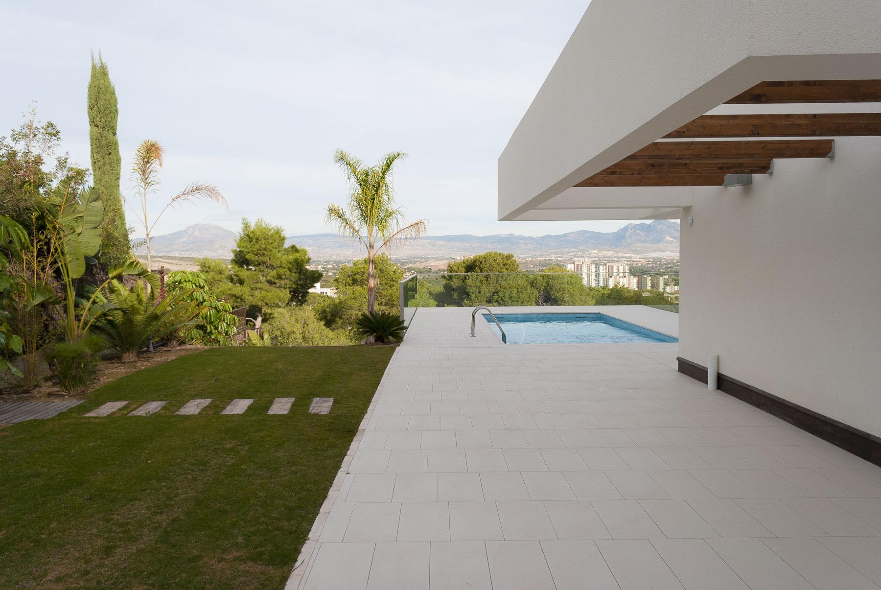 Diseno jardin mediterraneo david jim nez arquitectura y - Diseno jardines madrid ...