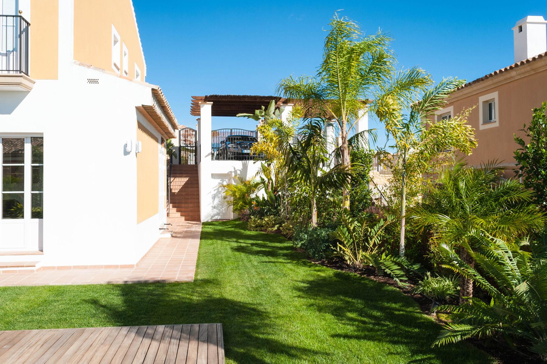 Diseno jardin subtropical david jim nez arquitectura y for Diseno de jardines madrid