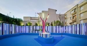 Diseño de jardin para proyecto de arquitectura