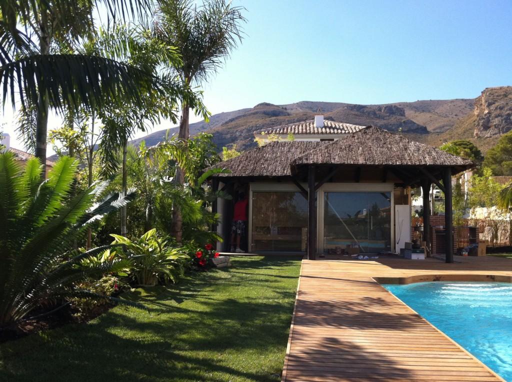 Dise O De Jard N Tropical Villa De Lujo En Benidorm