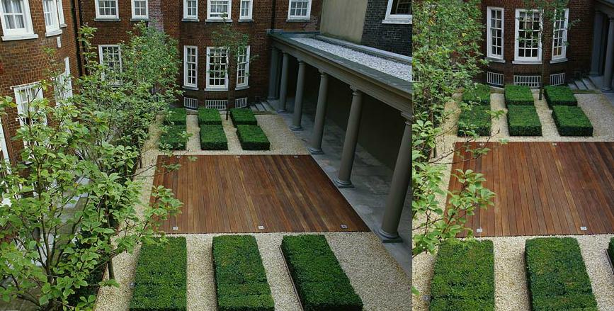 Paisajistas david jim nez arquitectura y paisajismo en - Diseno patio interior ...