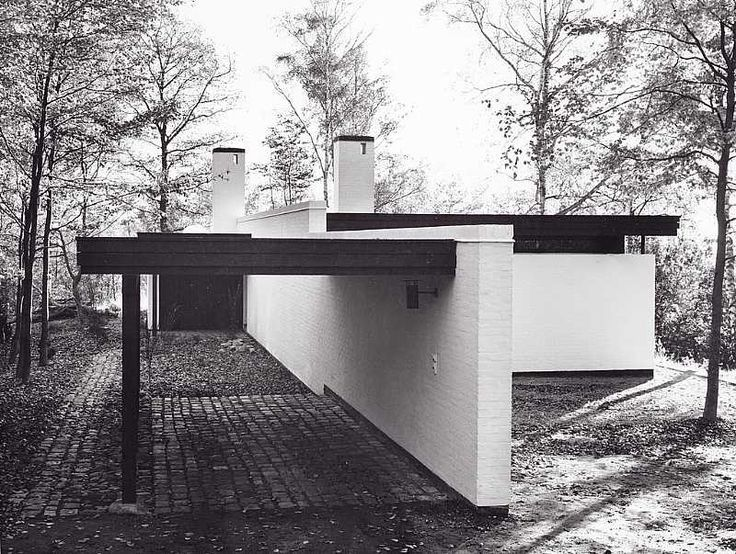 Arquitectura moderna 1957 Molkte house