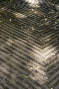 foto de pavimento de ladrillo