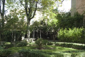 Jardin principe de anglona en madrid