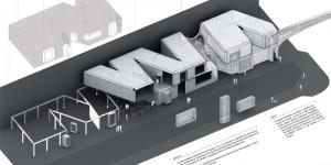 infografia de david jimenez arquitecto para concurso de arquitectura centro comercial