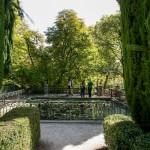 Visita al jardín El Capricho, Madrid.