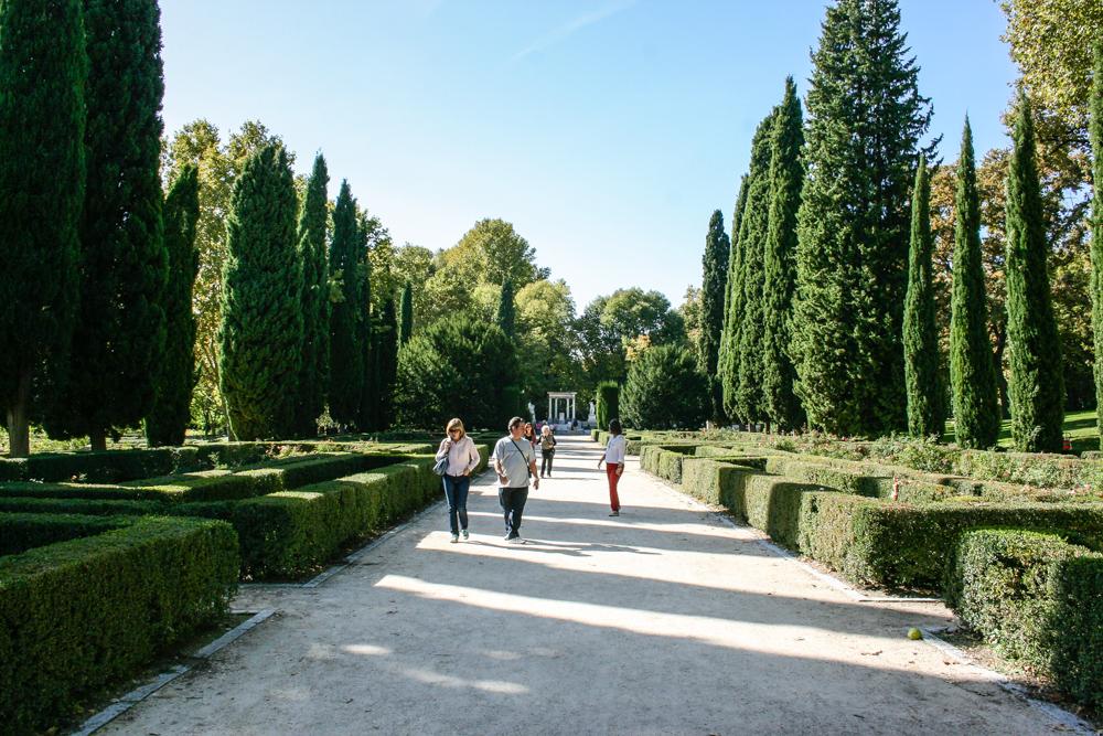 Jard n el capricho david jim nez arquitectura y paisajismo en madrid - Diseno jardines madrid ...