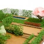 Un jardín con aroma a nana. Diseño de jardín en Madrid.