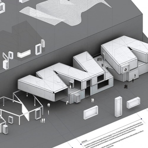 infografia para concurso de centro comerial en gandia