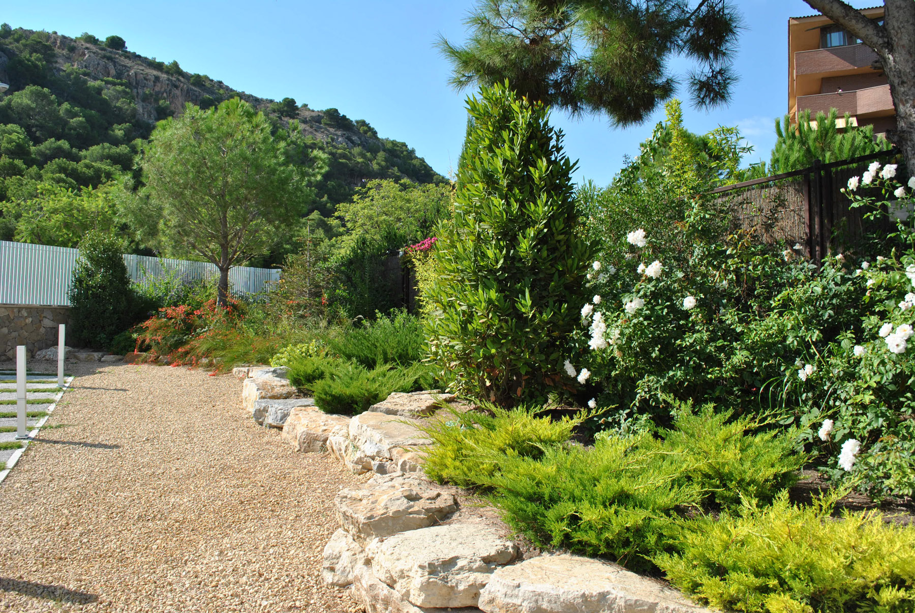 Diseno De Jardin Mediterraneo David Jim Nez Arquitectura Y Paisajismo En Madrid