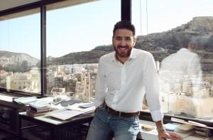David jimenez en estudio de arquitectura