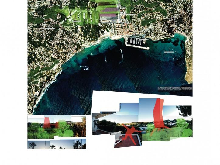 Proyecto de urbanismo en moraira para pechakucha David Jimenez