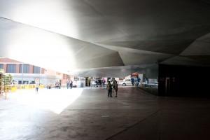 Exterior del edificio caixa forum madrid