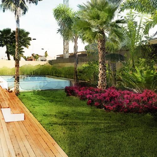 Proyectos david jim nez arquitectura y paisajismo en madrid for Paisajismo jardines modernos